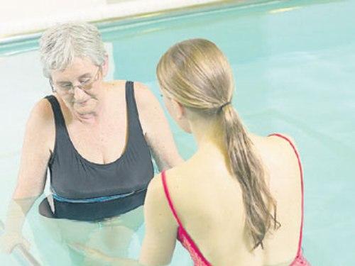 La hidroterapia en la tercera edad