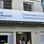 San Fernando cuenta con nuevo polideportivo Nº 4 para la tercera edad